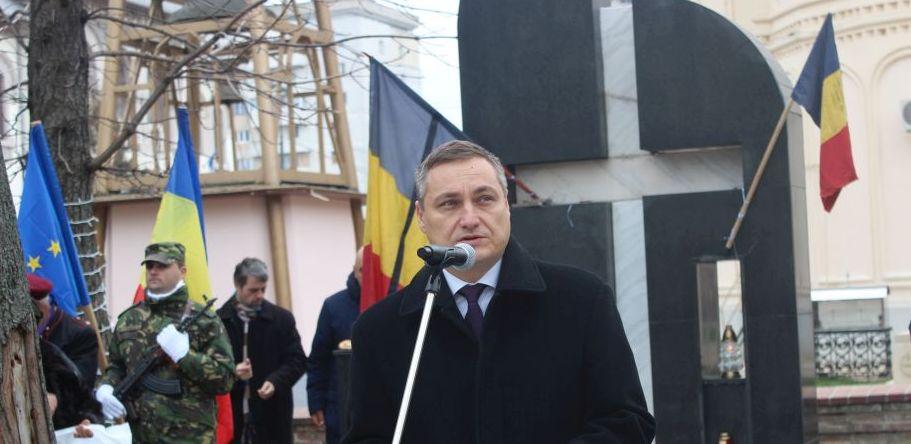 Ceremonia dedicată Eroilor Martiri ai Revoluției din 1989 - Focșani, decembrie 2017