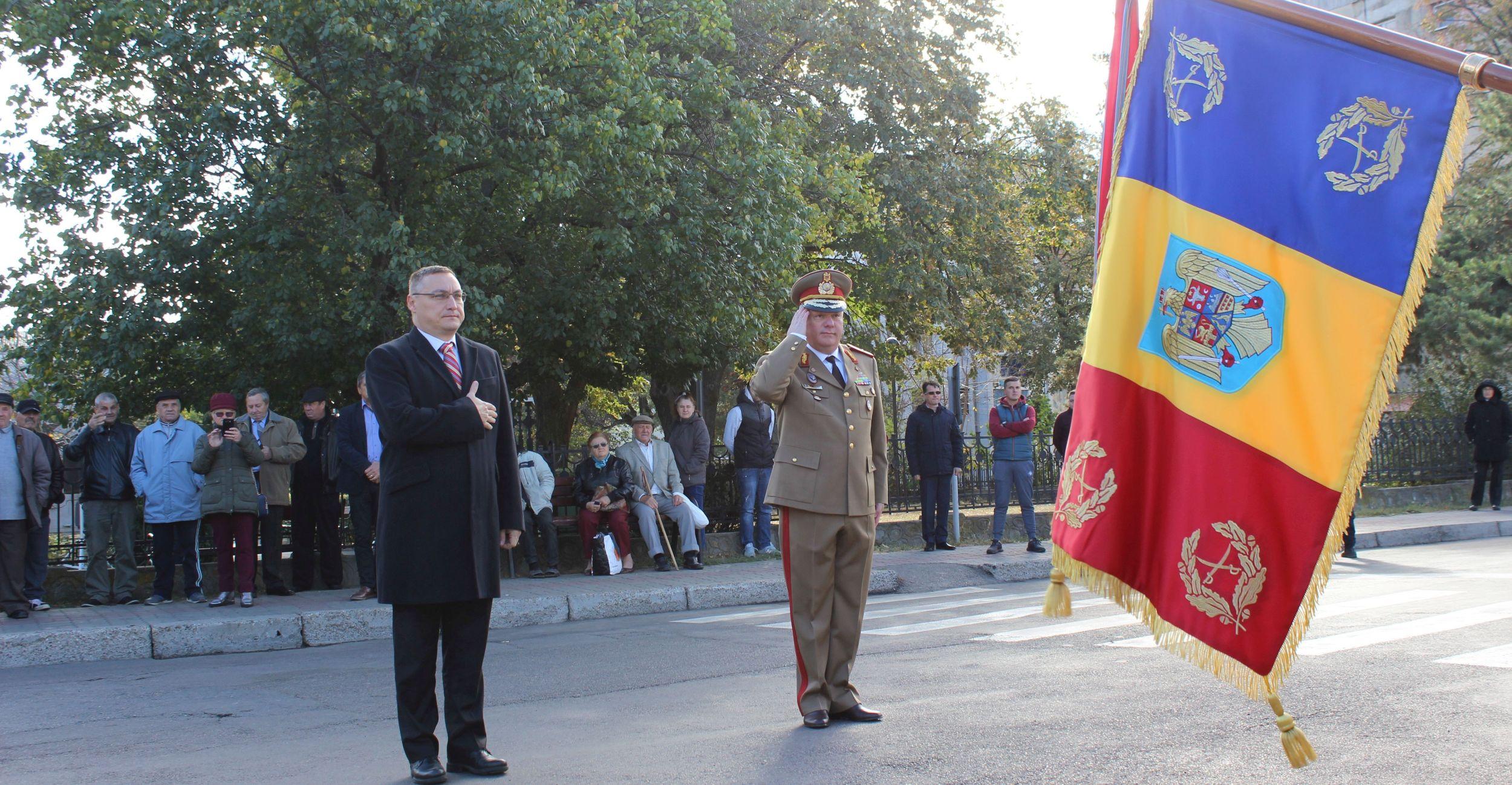 Ziua Armatei, 25 octombrie 2018 - Mausoleul Eroilor mun. Focsani